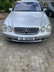 2001 Mercedes-Benz CL500 For Sale In Somerset West