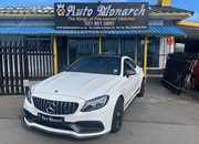Used Mercedes-Benz C63 S Coupe Western Cape