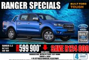 Used Ford Ranger 3.2 double cab 4x4 XLT Auto Gauteng