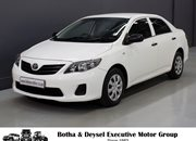 2014 Toyota Corolla Quest 1.6 For Sale In Vereeniging