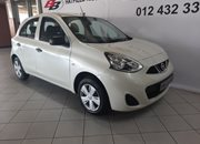 Used Nissan Micra 1.2 Active Gauteng