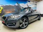 2016 BMW 220i Convertible Sport Line Sports-Auto For Sale In Benoni