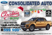 Used Ford Ranger 2.0 BiT DC Wildtrak 10 Speed A/T 4x2 Gauteng