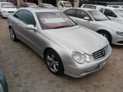 Used Mercedes-Benz CLK500 Coupe Western Cape
