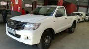 Used Toyota Hilux 2.5 D-4D Single Cab Gauteng