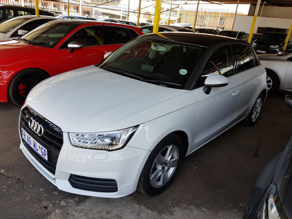 used audi a1 sportback 1 0tfsi se auto for sale in gauteng. Black Bedroom Furniture Sets. Home Design Ideas