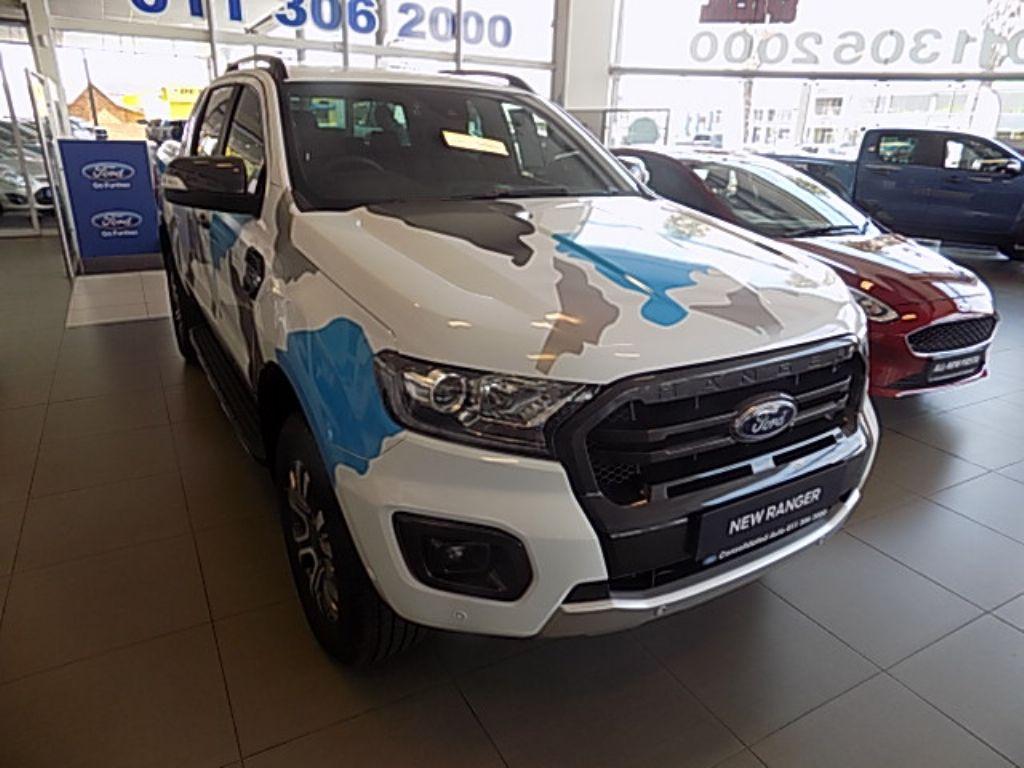 2020 ford ranger 2.0bit dc wildtrak 10 speed a t 4x4