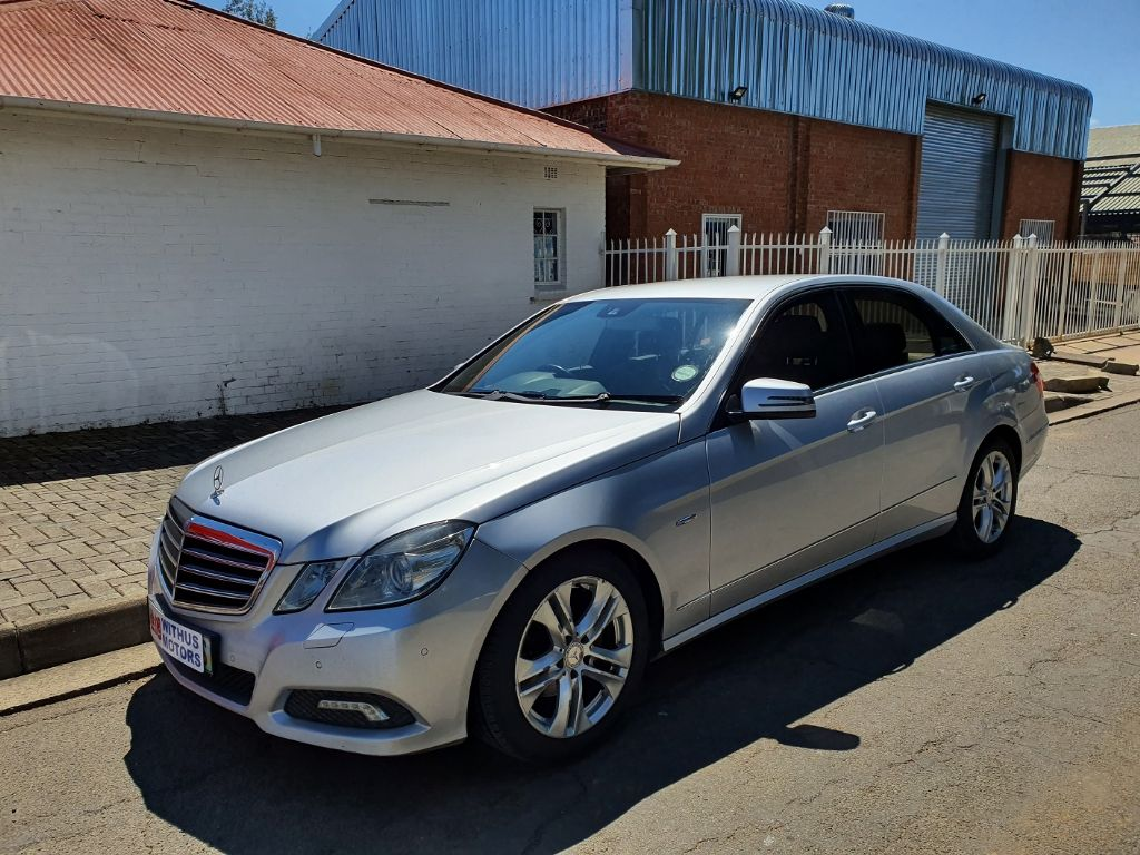 2010 Mercedes-Benz E200 CGi BE
