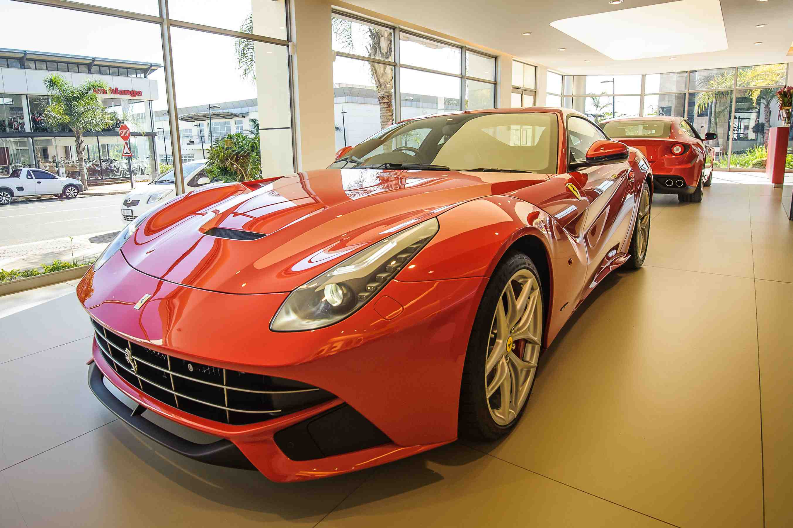 First Ferrari F12 Lands In KZN