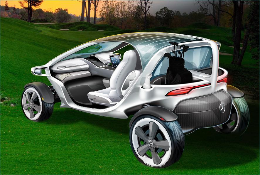 Mercedes Makes The Ultimate Golf Cart