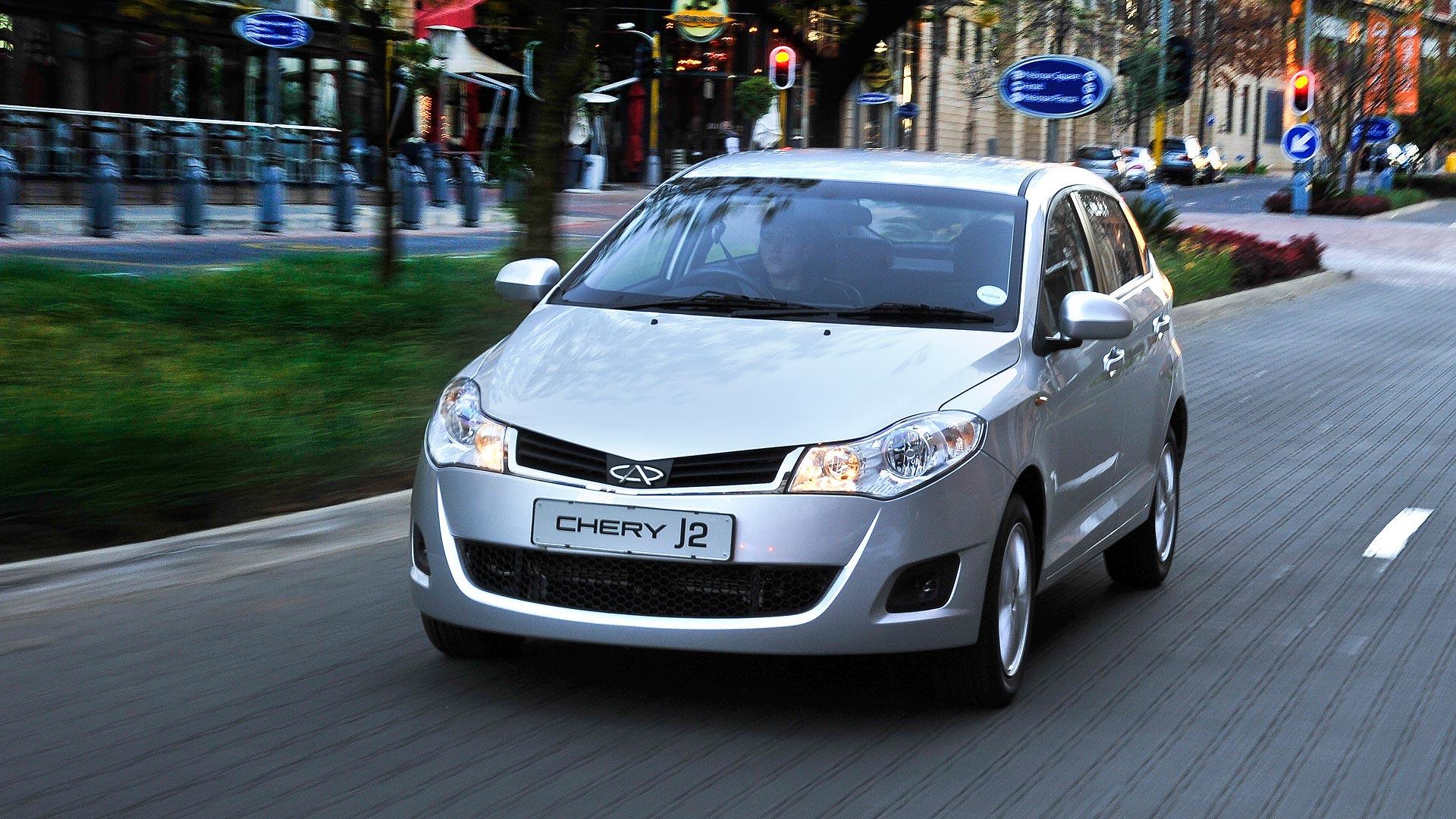 2013 Chery J2 – Launch Drive