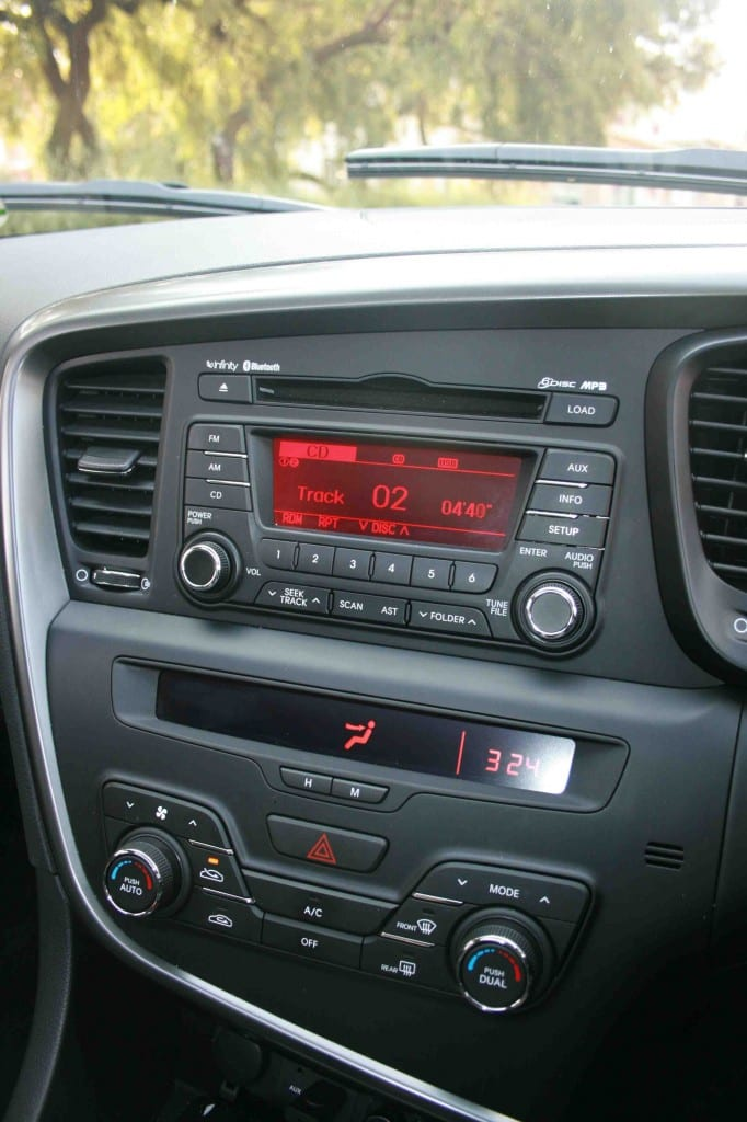 Kia Optima Centre Console - Surf4cars
