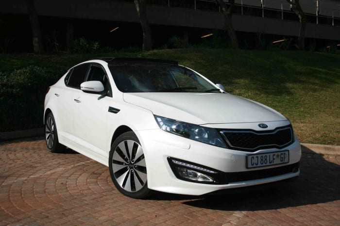 Kia Optima Front Side - Surf4cars
