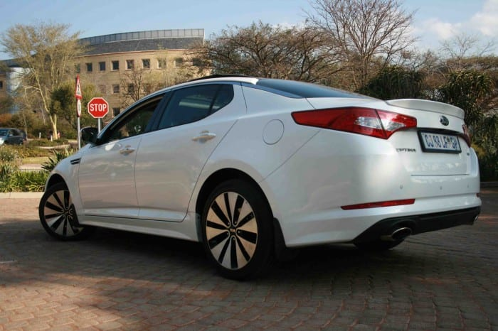 Kia Optima Rear Side - Surf4cars