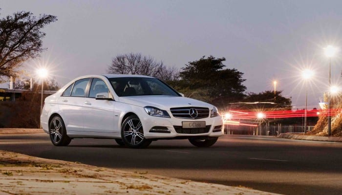 Mercedes-Benz C-Class front side - Surf4cars