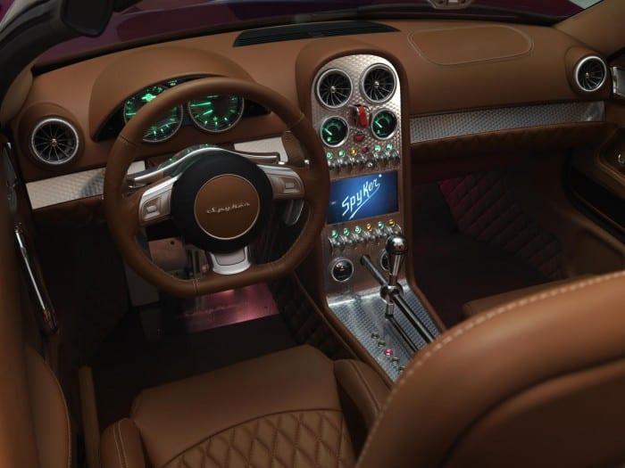 Spyker B6 Venator Concept Interior - Surf4cars