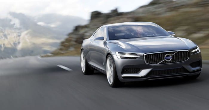 Volvo Concept Coupe Front - Surf4cars