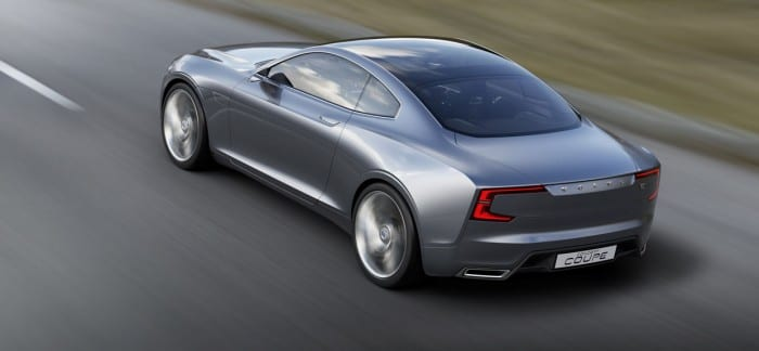 Volvo Concept Coupe Rear Side - Surf4cars