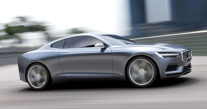 Volvo Concept Coupe Side Right - Surf4cars