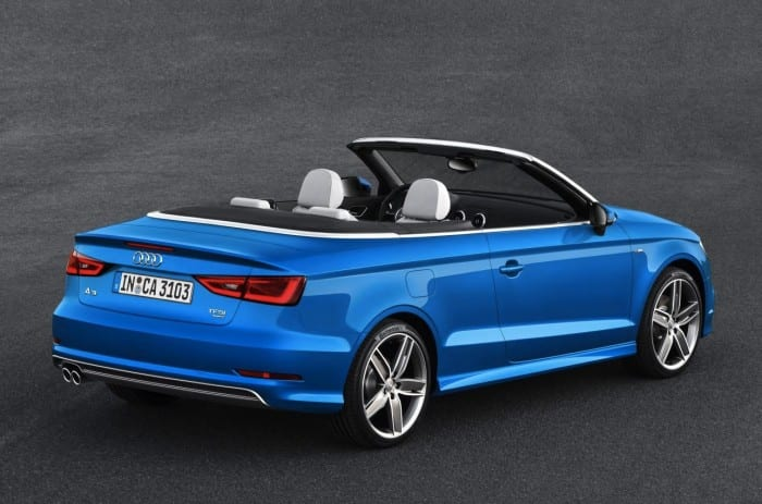 Audi A3 Cabriolet (2014) Rear - Surf4cars