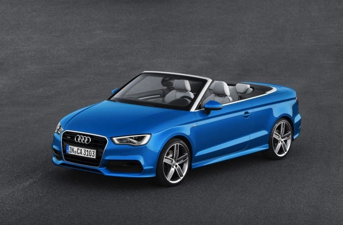 Audi A3 Cabriolet Aerial - Surf4cars