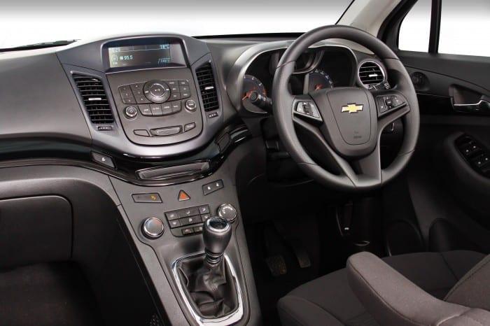 Chevrolet Orlando Interior - Surf4cars
