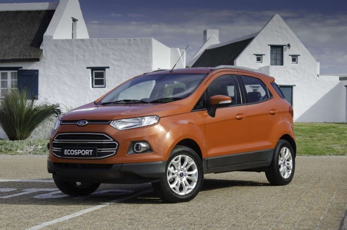 Ford EcoSport Right Side - Surf4cars