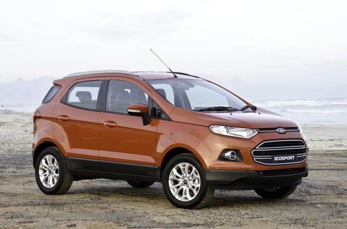 Ford EcoSport Side - Surf4cars