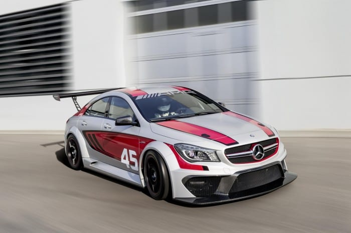 Mercedes-Benz CLA45 Racing Side Motion - Surf4cars