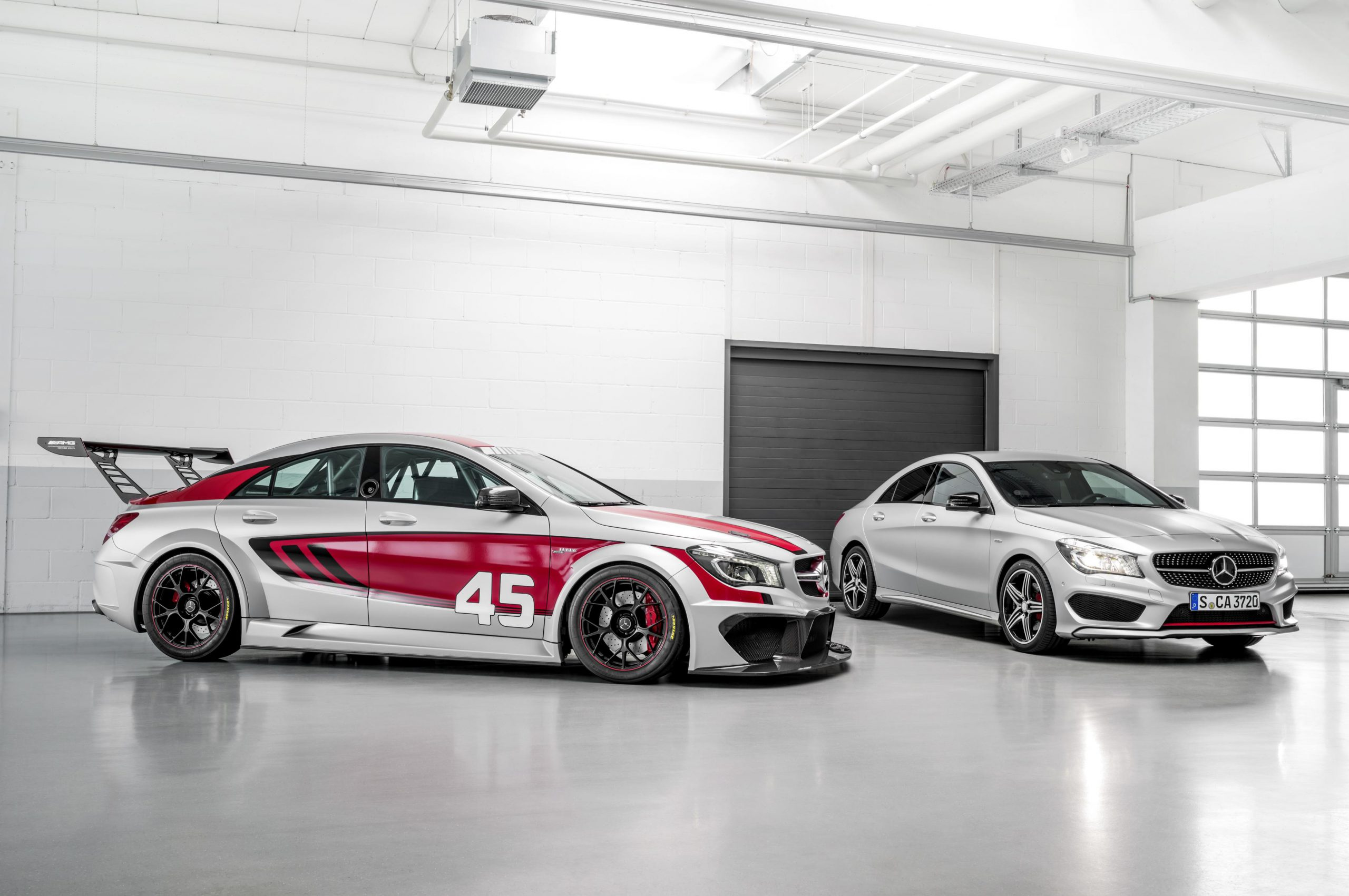 Mercedes-Benz CLA45 AMG Racing Series: Latest News – Surf4cars