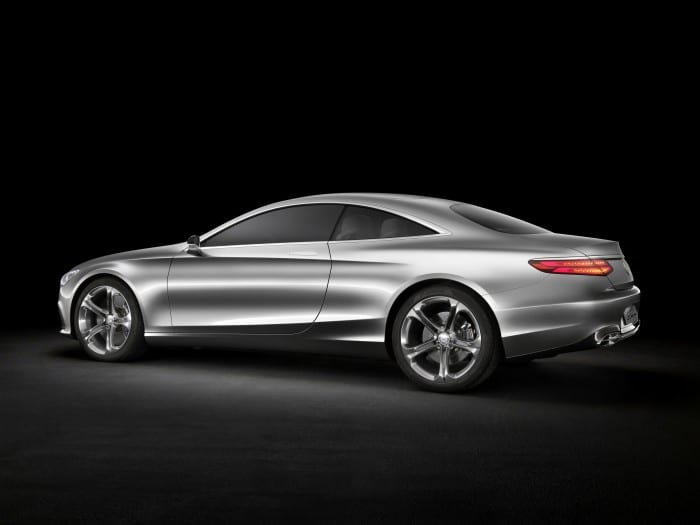 Mercedes-Benz S-Class Coupe Concept Rear Side - Surf4cars