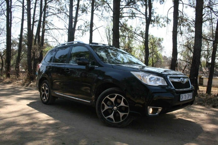 Subaru Forester XT right side - Surf4cars