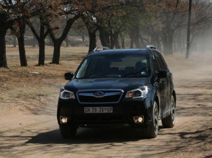 Subaru Forester XT motion - Surf4cars