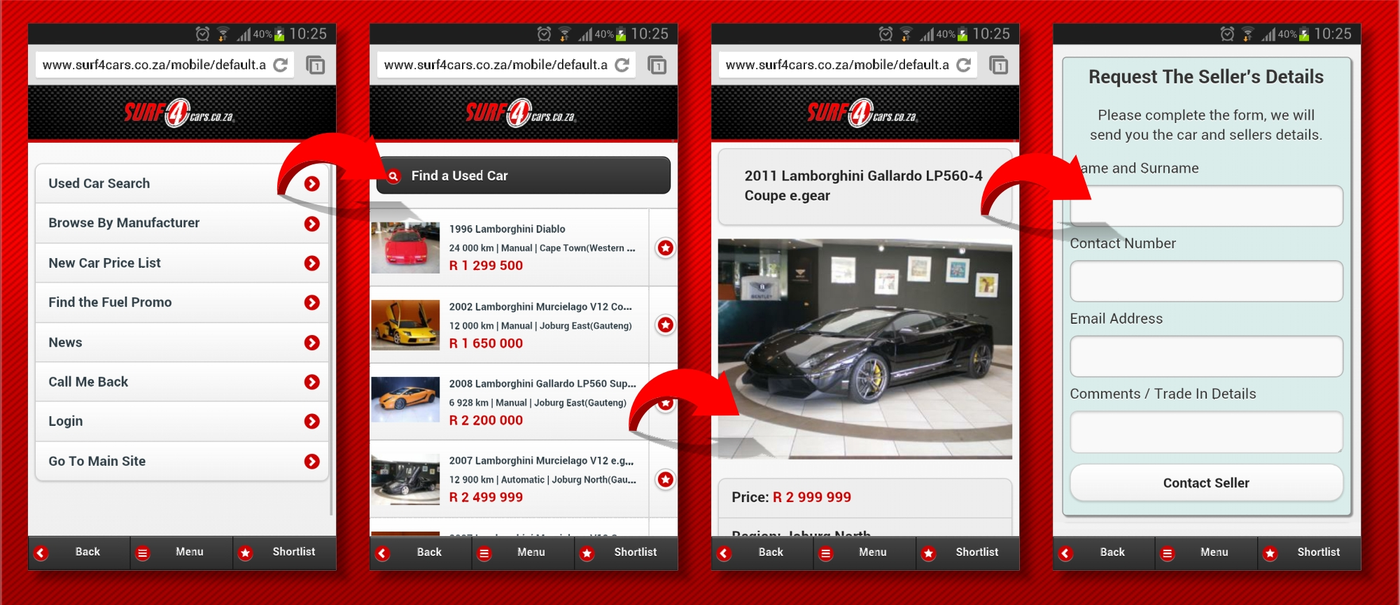 Our Mobile Site Goes Live: Latest News – Surf4cars