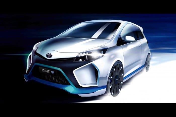Toyota Yaris Hybrid-R - Surf4cars