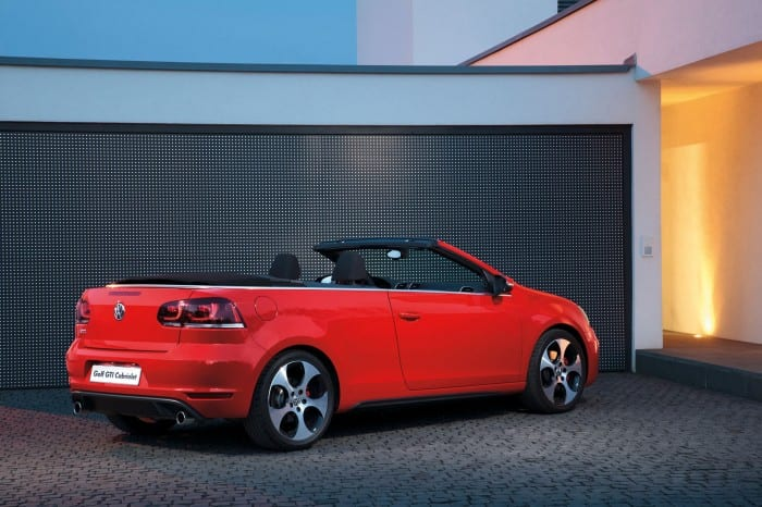 Volkswagen Golf 6 GTI Cabriolet rear - Surf4cars