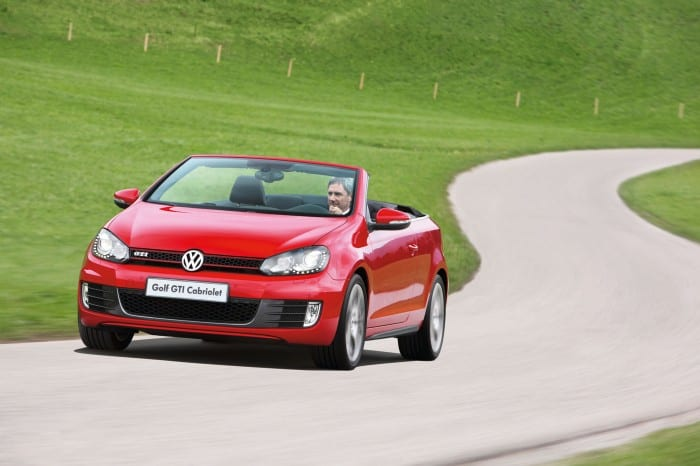 Volkswagen Golf 6 GTI Cabriolet motion - Surf4cars