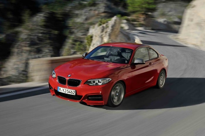 BMW 2-Series Coupe Red - Surf4cars