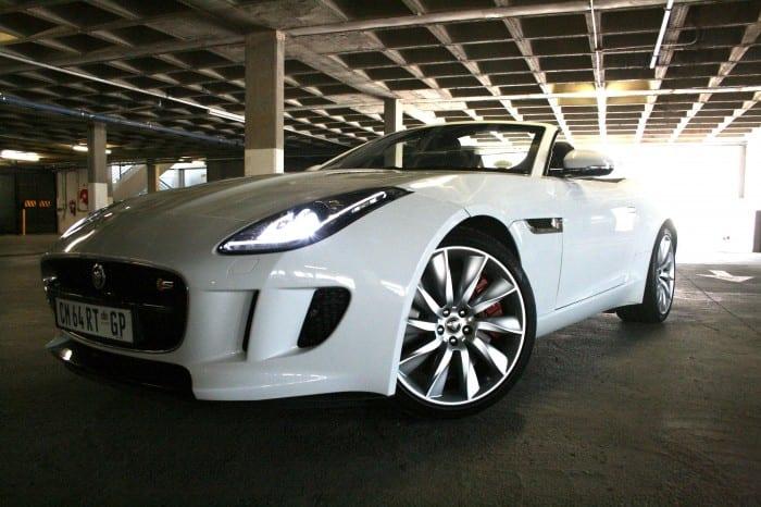 Jaguar F-Type Side Right - Surf4cars