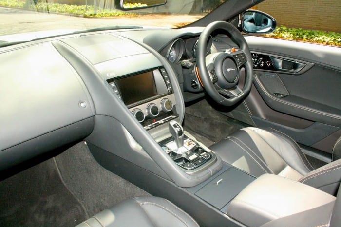 Jaguar F-Type Interior - Surf4cars