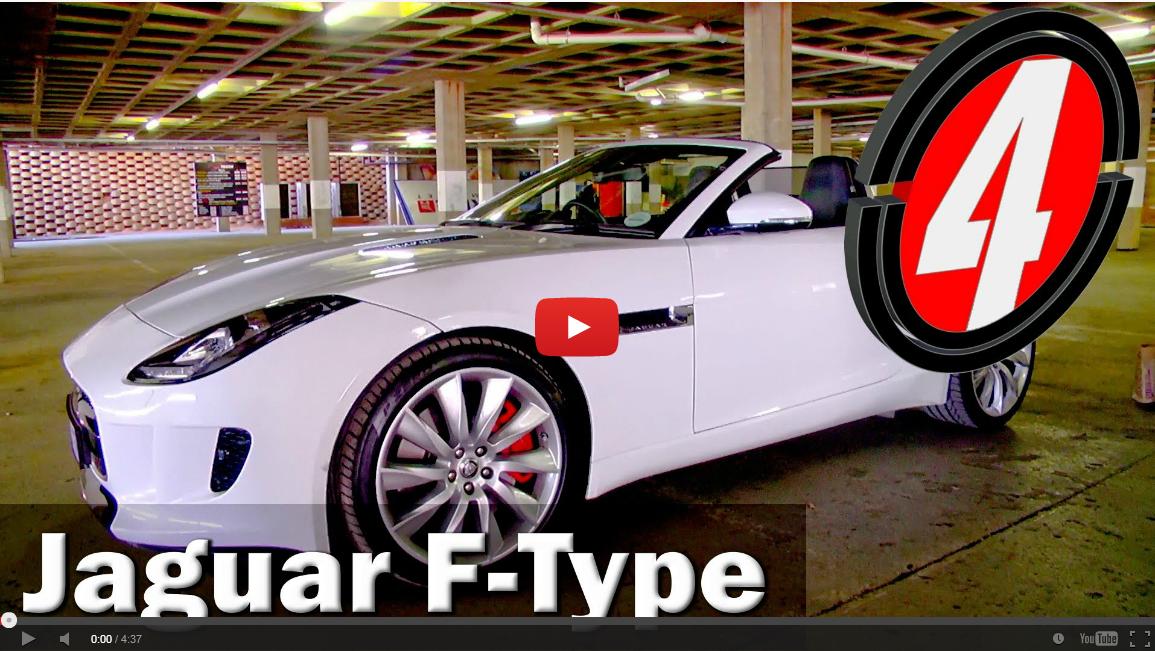 Jaguar F-Type V6 S (2013): Video Review – Surf4cars