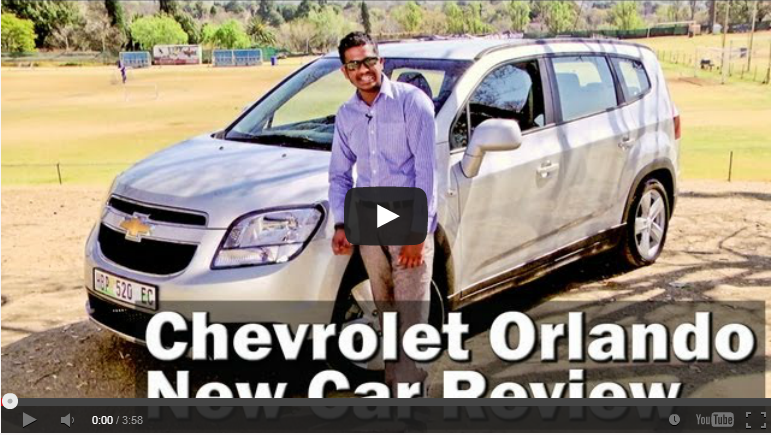 Chevrolet Orlando 1.8 LS (2013): Video Review – Surf4cars