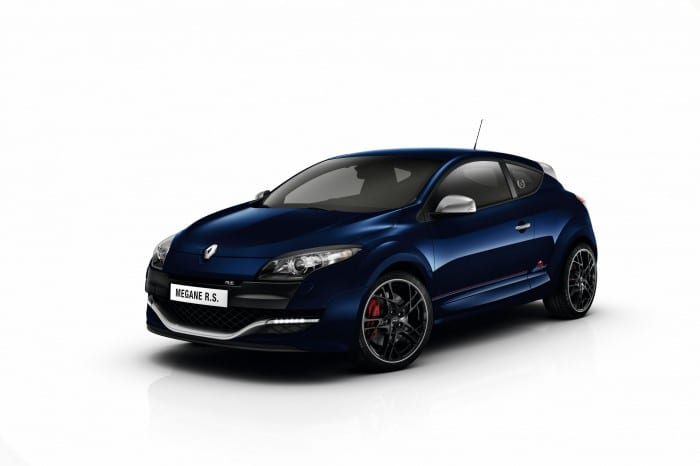 RENAULT MEGANE III COUPE RENAULT SPORT (D95 RS) - 2012 COLLECTION - RED BULL RACING RB8 LIMITED EDITION