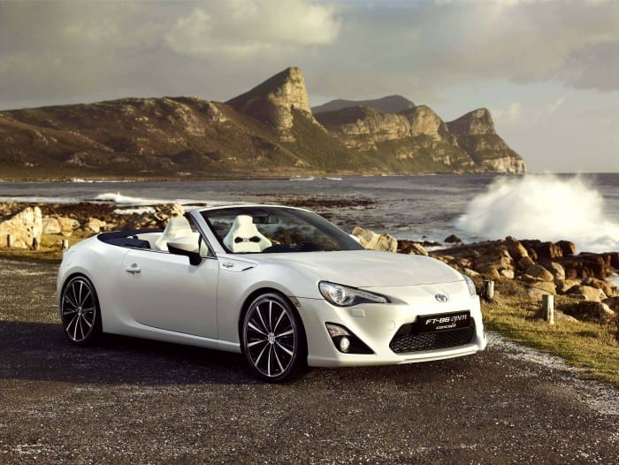 Toyota 86 Open Concept - Surf4cars