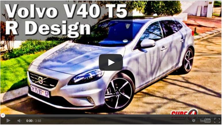 Volvo V40 T5 R-Design (2013): Video Review – Surf4cars