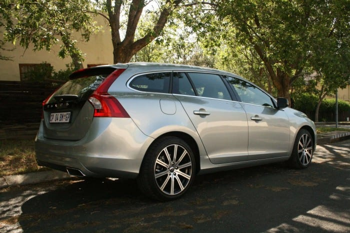 Volvo V60 D5 Rear Side - Surf4cars