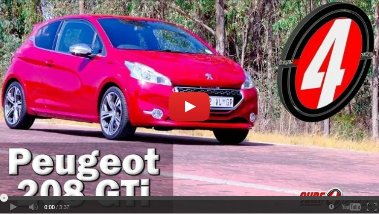 Peugeot 208 GTi (2013): Video Review – Surf4cars