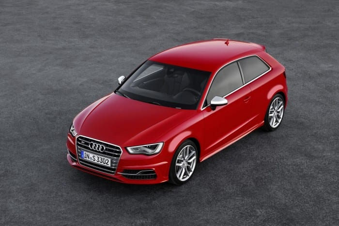 2013 Audi S3 Aerial View - Surf4cars