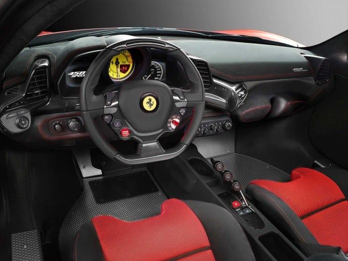 Ferrari 458 Speciale Interior - Surf4cars
