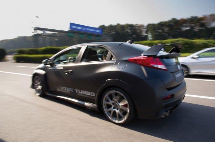 Honda Civic Type-R Rear - Surf4cars